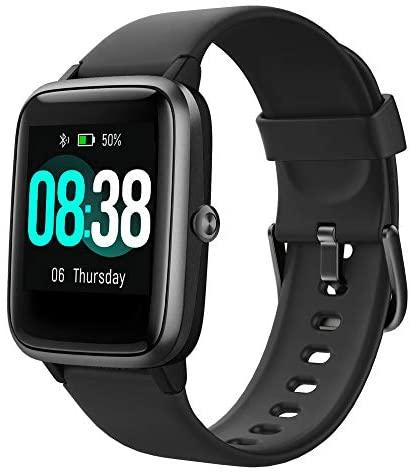 En este momento estás viendo YONMIG Reloj Inteligente Mujer y Hombre, Smartwatch Impermeable IP68 Pulsera Actividad Deportivo con Monitor de Sueño, Pulsómetro, Pantalla Táctil Completa Reloj Fitness para Android y iOS (Negro)