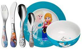 WMF Disney Frozen – Vajilla para niños 6 piezas, incluye plato