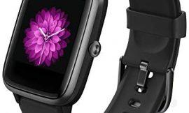 GRDE Smartwatch, Reloj Inteligente Impermeable IP68 con Monitor de Sueño Pulsómetro Podómetro Caloría GPS para Deporte, Smartwatch Reloj Inteligente Mujer Niños Despertador para Android iPhone