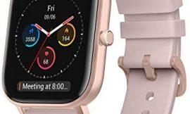 Amazfit GTS Reloj Smartwactch Deportivo   14 días Batería   GPS+Glonass   Sensor Seguimiento Biológico BioTracker™ PPG   Frecuencia Cardíaca   Natación   Bluetooth 5.0 (iOS & Android) Pink – Rosa