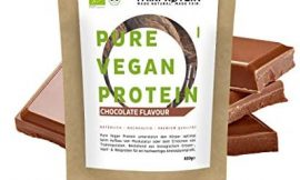 BLACK FRIDAY 2020 Polvo de Proteína Vegana BIO Chocolate sin soja – Proteína Orgánica 650g de Arroz Orgánico, Proteína de Cáñamo y Proteína de Guisante»Para un batido de proteína orgánica»