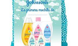 Johnson's Baby Pack Bebe Mi Primera Mochila, Champu Clásico 300 ml