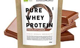 BLACK FRIDAY 2020 Proteína Whey en polvo de Suero I Chocolate BIO sin soja – Batidos de proteína»certificado orgánico» 650g Organic Whey Protein