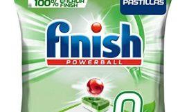 Finish Powerball 0% – Pastillas para el lavavajillas todo en 1