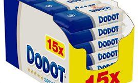 Dodot Sensitive Toallitas para Bebé 15 Paquetes de 54 Unidades