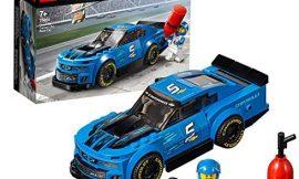 LEGO Speed Champions – Deportivo Chevrolet Camaro ZL1, juguete divertido de construcción de coche deportivo de carreras (75891)