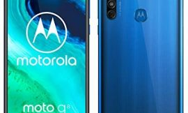 Motorola Moto G8 – Smartphone de 6,4″ HD+ o-notch, 4G, Qualcomm Snapdragon SD665, Sistema de cámara triple, 64 GB, 4 GB RAM, Android 10 – Color Azul