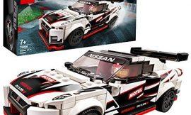 LEGO Speed Champions – Nissan GT-R NISMO, Juguete de Construcción de Coche de Carreras, Incluye Minifigura del Conductor (76896)