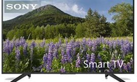 Sony KD49XF7004BAEP – Smart TV de 49″ 4K Ultra HD con Soporte de ángulo, Negro Mate