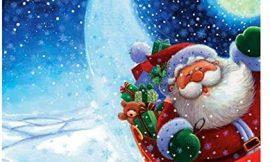 Rong Muñeco de nieve 5D, pintura de diamante, punto de cruz, DIY, diamantes de imitación, decoración de Navidad