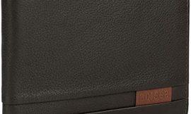Lois – Cartera de Hombre. Billetero Tarjetero de Cuero Piel Genuina. Porta Monedas. Tarjetas Documentos Billetes dni carnet. Protección RFID. 202313, Color Marron