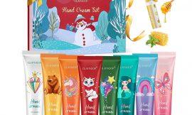 8 tubos de cremas de manos hidratantes enriquecidas con vitamina E y C con aromas naturales por 11,89€.