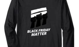 Black Friday Shopping Season Viernes Negro Manga Larga
