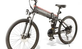 Bicicleta de montaña eléctrica plegable M&P, motor sin escobillas 500W, panel led, 21 velocidades, color negro por 615,49€ en Amazon antes 869,99€; en blanco 764,99€ antes 1099,99€.