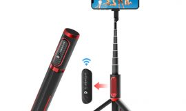 BlitzWolf BS10 Palo Selfie, trípode y disparador remoto para teléfonos móviles por 14,49€ antes 24,99€.