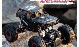 Coche teledirigido Monster Truck 2.4Ghz, 2 baterías 600mAh por 23,99€.