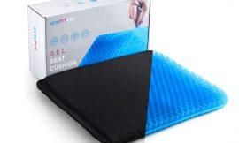 Cojín de gel frío de silicona para sillas/asientos por 12,99€ antes 25,99€.