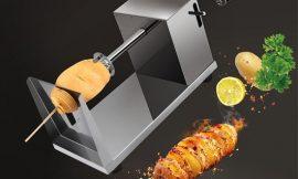 Máquina para cortar patatas o vegetales en espiral de acero inoxidable por 16,14€.