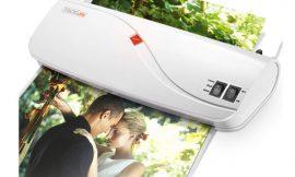 Mini plastificadora Tacklife MTL01, en frío/calor compatible con formatos A4 A5 y A7, 10 bolsas por 19,19€ antes 26,99€.