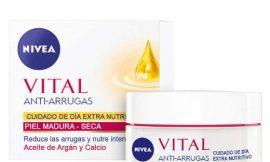 Crema de día extra-nutritiva Nivea Vital Calcio para pieles maduras por sólo 6,99€.