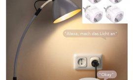 Pack de 4 enchufes inteligentes con conectividad Wifi, compatibles con Amazon Echo, Google Home por 26,99€ antes 39,99€.