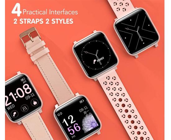 En este momento estás viendo Smartwatch 17 modos deportivos, frecuencia cardíaca, seguimiento menstrual, 2 correas, impermeble (IP68) por 28,19€ antes 46,99€.