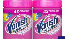 Oferta Black Friday! 2 Envases de quitamanchas para la ropa Vanish Oxi Action (2x900gr) por sólo 11,99€.