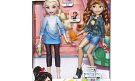 Set de princesas de Frozen Elsa y Anna, en su versión de Ralph Rompe Internet por sólo 15,95€ antes 34,99€.