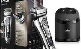 ¡Sólo hoy! Afeitadora eléctrica de lámina Braun Series 9 9385cc con estación de limpieza y carga y 6 cartuchos de limpieza por 299,00€. Antes 349,23€.