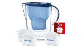 ¡Chollo! Jarra de agua filtrada Brita Marella con 3 cartuchos MAXTRA+ por sólo 21,99€