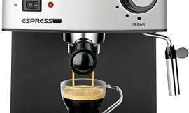 Cafetera espresso Solac CE4480, 19 bar, 1,25 litros por 59,99€.