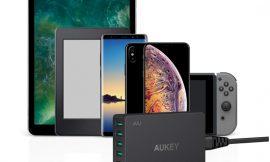 Cargador Aukey de 6 puertos USB: 4 AiPower y 2 Quick Charge 3.0 por 18,99€, antes 29,99€.