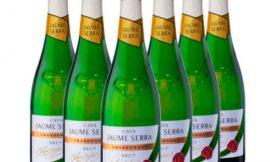 Lote de 6 botellas de Cava Jaume Serra Chardonnay Brut (6x750ml) por sólo 24,30€