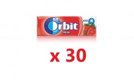 ¡Chollazo! 30 paquetes de chicles de fresa de Orbit por sólo 4,33€ (antes 16€)