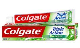 Pasta de dientes Colgate Triple Acción Extra Fresh (75ml) por sólo 1,45€.