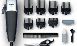 Cortapelos Philips Pro Serie 5000 HC5100/15 con 7 peines guía, cuchillas regulables y acabados profesionales por 26,34€.