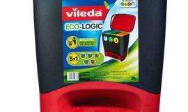 Vileda Cubo Ecologic, la forma más sencilla y limpia de reciclar por sólo 24,49€.