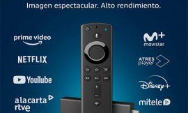 Fire TV Stick 4K un 50% más rápido que el modelo del 2.019 con asistente Alexa de Amazon por 39,99€. Fire Tv Stick Lite por 19,99€ y Nuevo Fire TV Stick 1080p por 29,99€