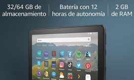 Tablet Fire HD8, 32GB por 69,99€.