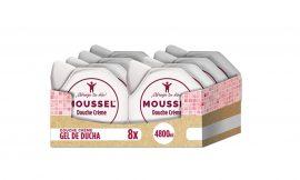 ¡Chollito! Pack de 6 Moussel gel de ducha por sólo 13,10€ (2,18€/unidad)