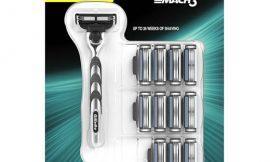 Maquinilla para hombre Gillette Mach3 + 11 recambios de hojas de afeitar por 21,99€.
