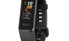 """Huawei Band 4, pantalla 0,96"""", podómetro, sensor cardíaco, sumergible a 50 metros por sólo 19,00€."""