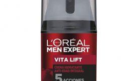 Crema hidratante Anti-Edad con 5 acciones de L'Oreal Men Paris por sólo 7,25€.