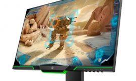 Monitor gaming HP 25x, 24,5 pulgadas, pantalla Full HD, Low Blue Light y regulable por 183,20€.
