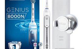 Oferta del día! Cepillo de dientes eléctrico bluetooth Oral-B Genius 8000N por 89,99€.