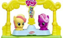 Tiovivo Gira Gira My Little Pony con dos figuras de Play Doh por sólo 5,39€.