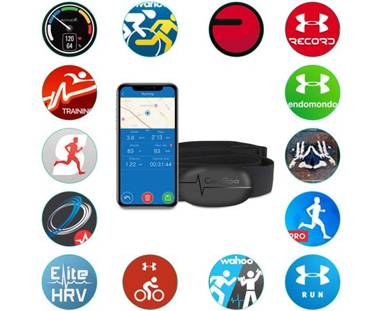 En este momento estás viendo Banda de frecuencia cardiaca Bluetooth 4.0/Ant+ CooSpo, compatible con Wahoo, Zwift, Endomondo, Runkeeper, IpBike, Nike+ Runclub etc por 22,39€.