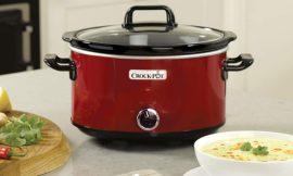Oferta Black Friday! Olla de cocción lenta Crock-Pot SCV400RD de 3.5 litros de capacidad por 25,99€.