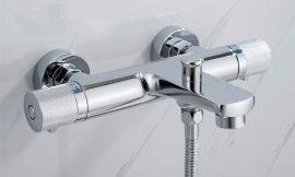 Grifo de ducha termostático, 3 niveles de flujo de agua por 70,99€ antes 109,99€.