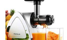 Licuadora de verduras y frutas Homever con prensado en frío por 56,97€ antes 94,95€.